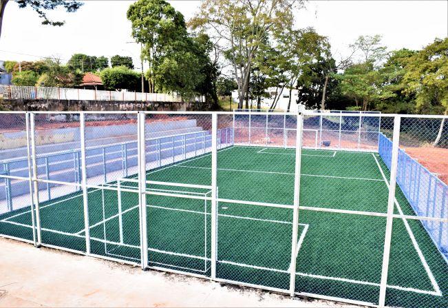 1ª Quadra de Futebol Society de Pompeia deve ser inaugurada em breve 9879b90b0ed20