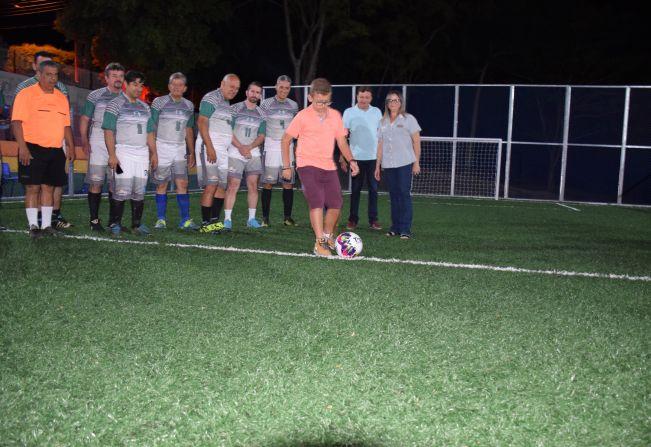 Administração Tina Januário inaugura Quadra de Futebol Society 82f6846f5a13d
